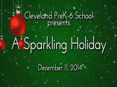 """Cleveland presents """"A Sparkling Holiday"""""""