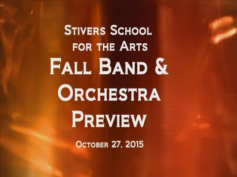 Stivers Band & Orchestra Preview Concert 2015