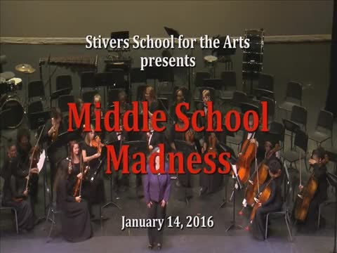 """Stivers presents """"Middle School Madness"""""""