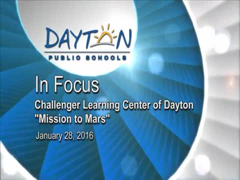 """Challenger Learning Center of Dayton """"Mission to Mars"""""""