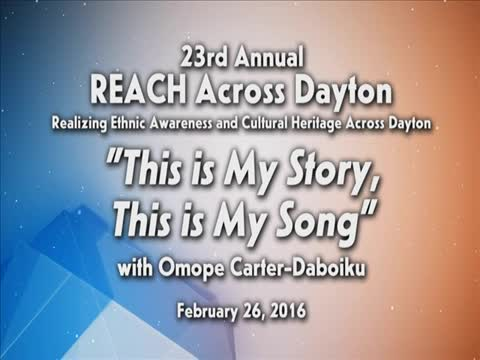 """REACH 2016: """"This is my Story, This is my Song"""""""