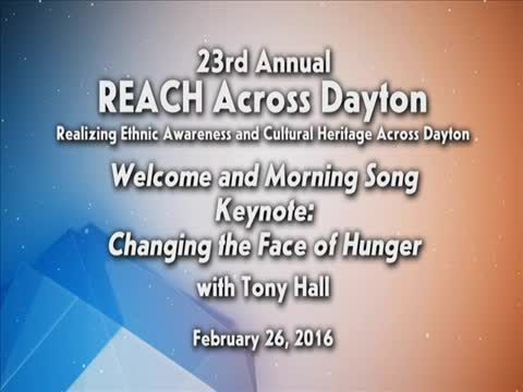 """REACH 2016: """"Changing the Face of Hunger"""""""
