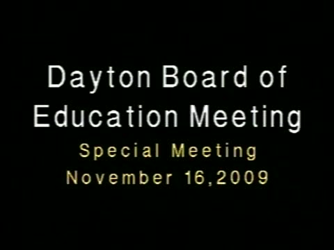Special Bd. Mtg. on Phys. Ed. waiver