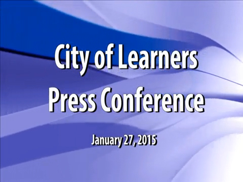City of learners Press Conference