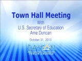 Town Hall Meeting with U.S. Secretary of Education
