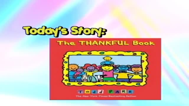 """Ms. Story """"The Thankful Book"""""""