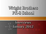 Wright Bros. Pk-8 visit from Govenor